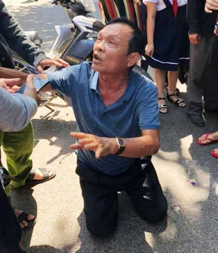 Tài xế xe Lexus đâm chết 4 người khiêng quan tài ở Bình Định bị bắt - 1