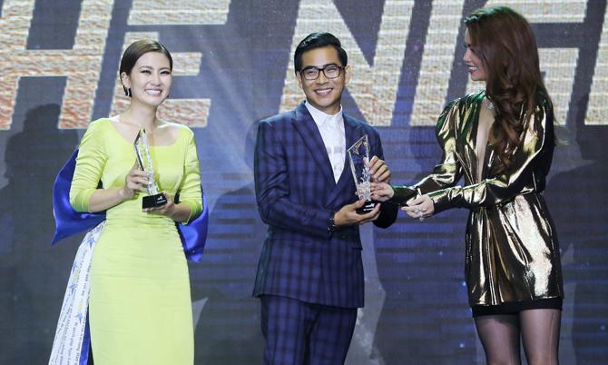 Ngọc Lan - Thanh Bình giành giải Nữ hoàng và Ông hoàng tại tiệc báo Ngôi Sao