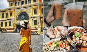 Gợi ý khám phá Sài Gòn 24 tiếng kỳ nghỉ lễ cho du khách phương xa