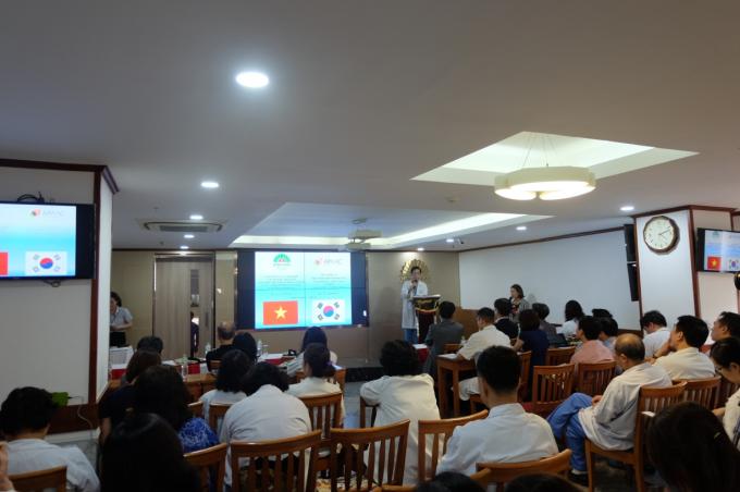 Toàn cảnh hội thảo Giới thiệu về Khóa học Chống lão hóa châu Á - Thái Bình Dương.
