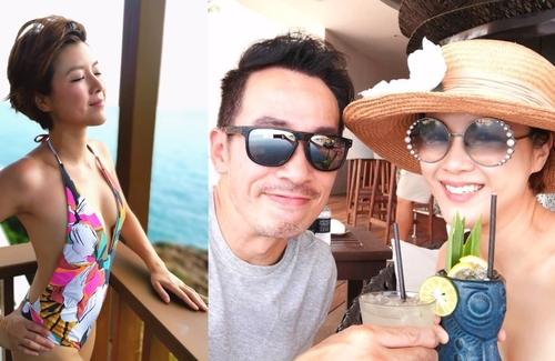 Nhân Mỹ khoe hình sexy trong chuyến đi Thái Lan.