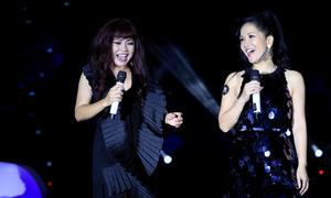Phương Thanh - Hồng Nhung hòa giọng trong sinh nhật Ngoisao.net