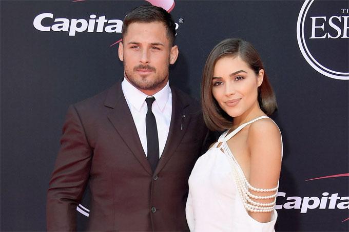 Olivia Culpo và Danny Amendola.