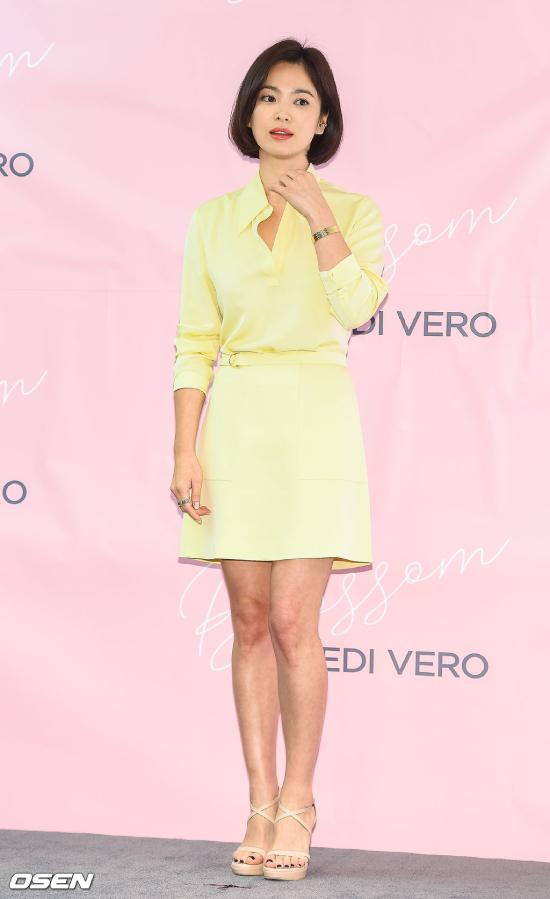 Song Hye Kyo lột xác so với thời mới vào nghề - 1