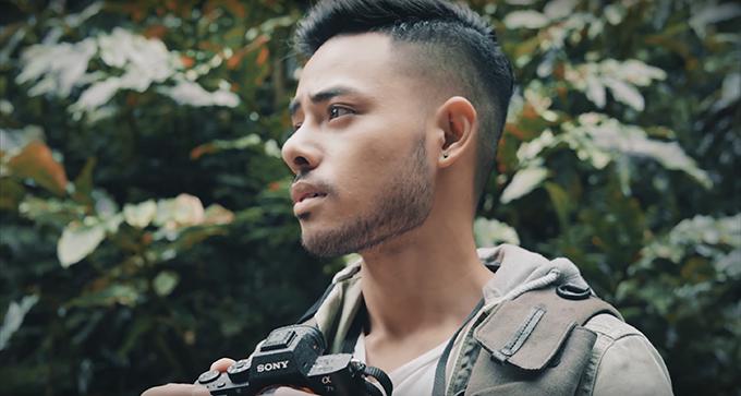 Diễn viên ngoại quốc trong MV của Sèn Hoàng Mỹ Lam
