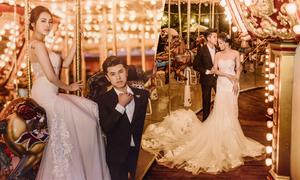 Cặp Hà Nội rủ nhau trở về tuổi thơ khi chụp hình cưới