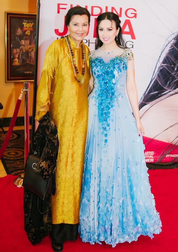 Nghệ sĩ Kiều Chinh là một trong số diễn viên người Việt góp mặt trong phim của Hà Phương.