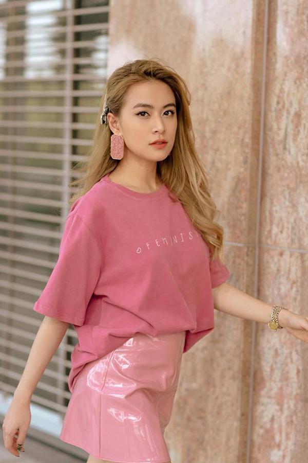 Diễn viên, ca sĩ Hoàng Thuỳ Linh.
