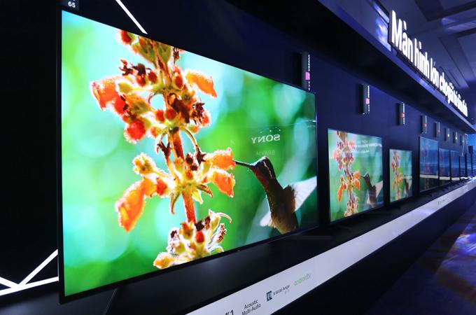 Loạt TV Bravia 2019 của Sony được giới thiệu tại Việt Nam.