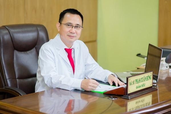 Bác sĩ Phạm Xuân Hùng - Giám đốc trung tâm thẩm mỹ Xuân Hùng.