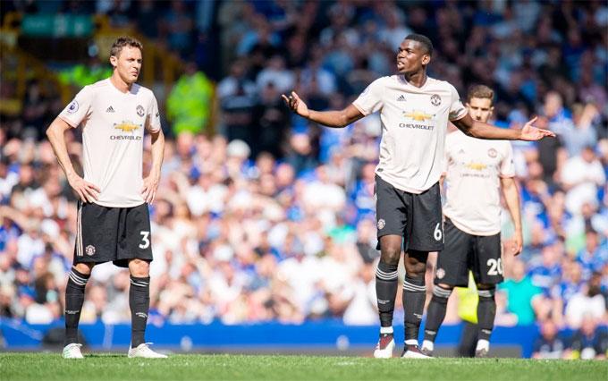 MU có trận đấu bạc nhược trước Everton