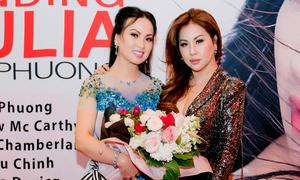 Minh Tuyết ủng hộ chị gái Hà Phương ra mắt phim ở Mỹ