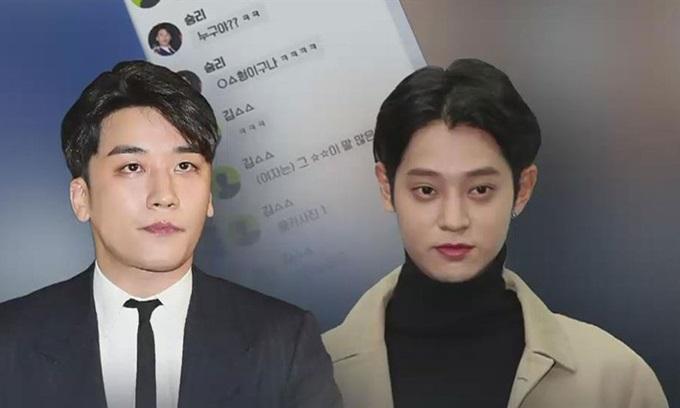 Seungri (trái) và Jung Joong Young là hai kẻ cầm đầu trong nhóm chat bệnh hoạn của showbiz Hàn Quốc.