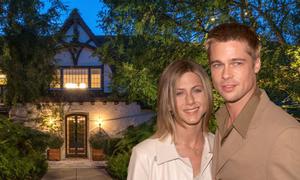 Biệt thự cũ của Brad Pitt và Jennifer Aniston rao bán 56 triệu USD