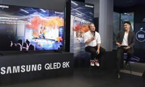 Giới trẻ đến Samsung Showcase nghe Nguyễn Quang Dũng kể chuyện làm phim