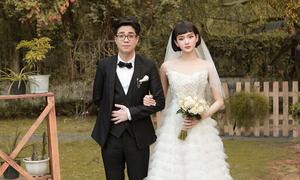 Váy cưới ấn tượng được sao Việt lăng xê trên phim, MV