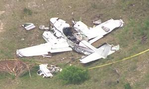 Máy bay chở 6 người rơi ở Mỹ