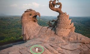 Đến Ấn Độ tham quan tượng chim đại bàng to nhất thế giới