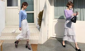 Các kiểu chân váy cho mùa nắng