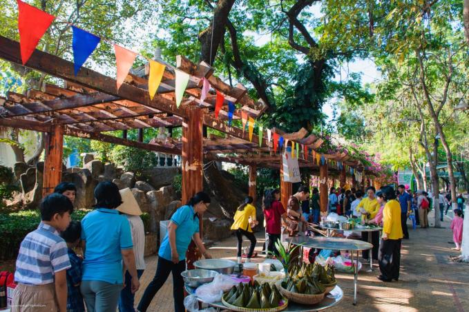 Loạt sự kiện ý nghĩa tại Công viên Văn hóa Đầm Sen mừng lễ 30/4 - 7