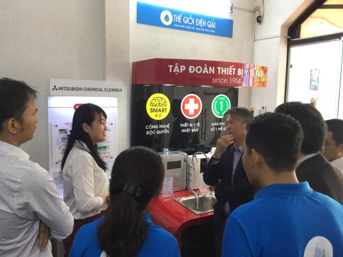 Thế Giới Điện Giải đưa máy lọc nước Hydrogen tiêu chuẩn Nhật vào Việt Nam - 1