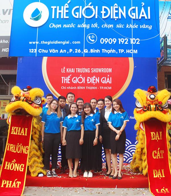 Thế Giới Điện Giải đưa máy lọc nước Hydrogen tiêu chuẩn Nhật vào Việt Nam