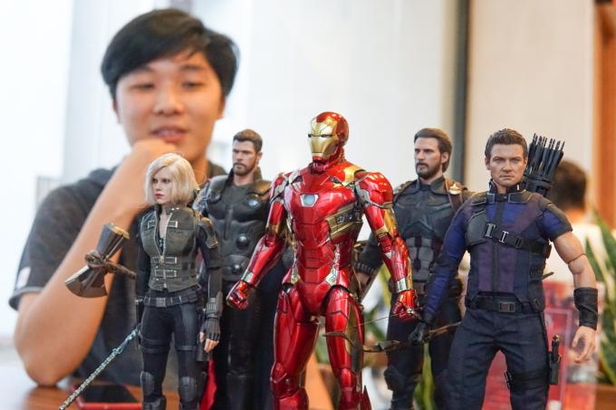 Chàng trai 9x Hà Nội khoe bộ sưu tập mô hình siêu anh hùng Marvel