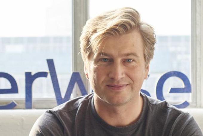 Kristo Kaamann, giám đốc điều hành TransferWise. Ảnh: BBC.