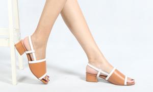 Sandal đế bệt cho bạn gái mùa hè năng động