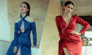 Anh Thư diện váy khoe khoảng hở của Nguyễn Hà Nhật Huy