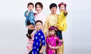 Minh Hà: 'Tôi muốn sinh nhiều con để tránh cảnh cha già con mọn'