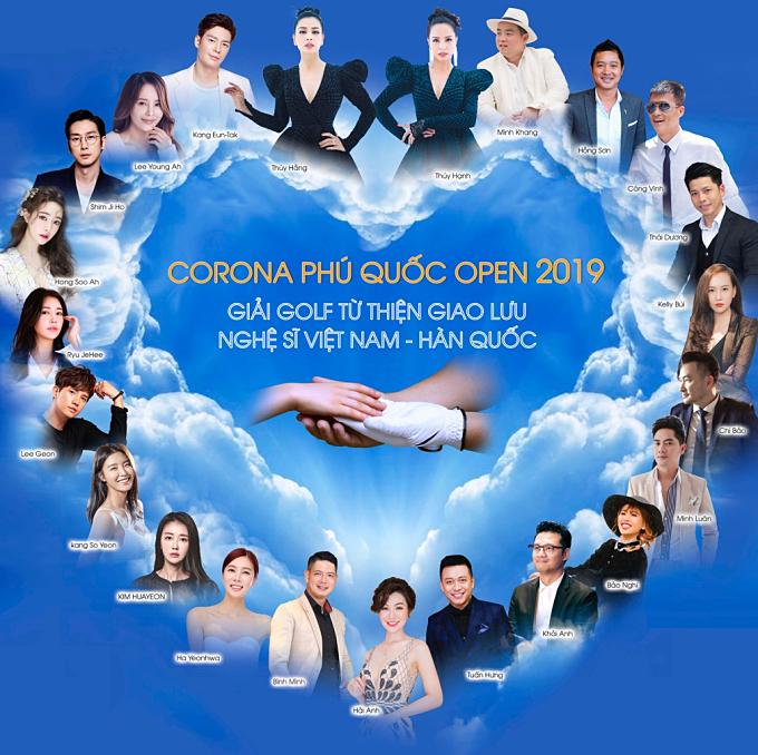 Golf từ thiện giao lưu nghệ sĩ Việt Nam - Hàn Quốc - Corona Phú Quốc Open 2019 không chỉ là sân chơi giúp các golf thủ giao lưu, thi đấu mà còn là dịp để họ chung tay thực hiện các hoạt động từ thiện hướng đến cộng đồng, xã hội.