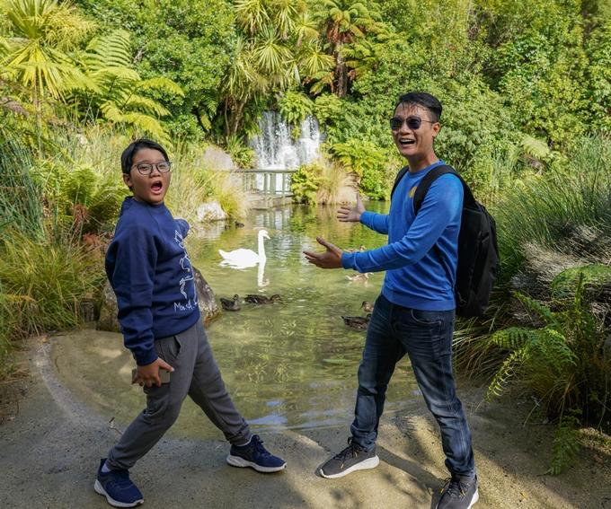 Công viên thiên nhiên Rainbow Springs khiến các du khách thích thú khám phá.