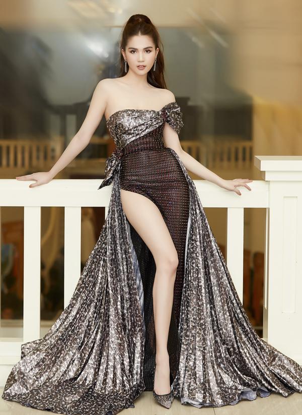 Sao Việt khuấy đảo mốt váy cut-out - 8
