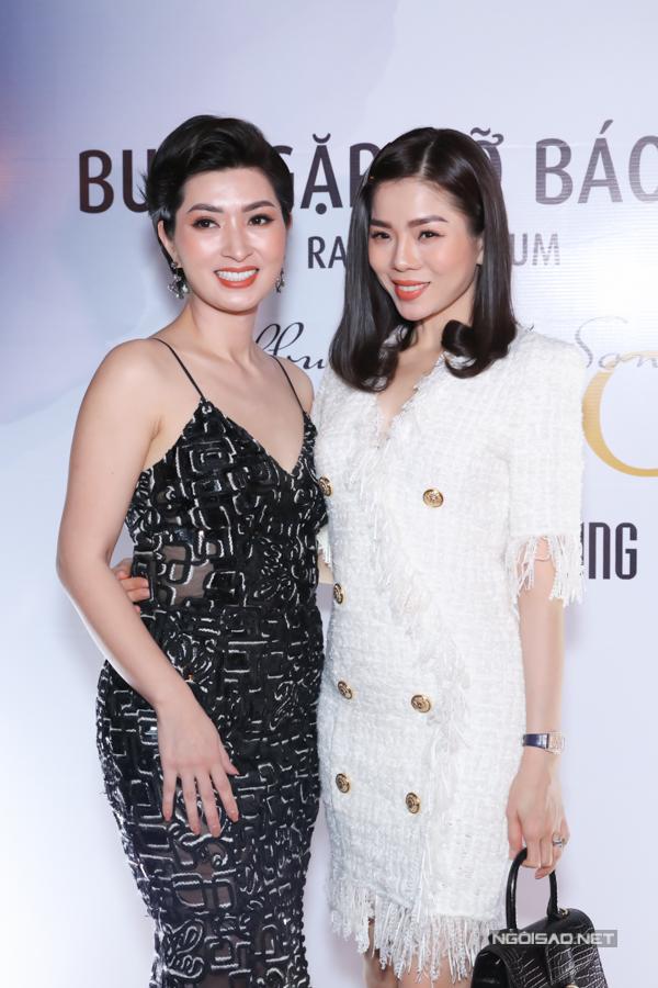 [Caption Lê Quyên cho biết, cô và Nguyễn Hồng Nhung có những thủa thanh xuân