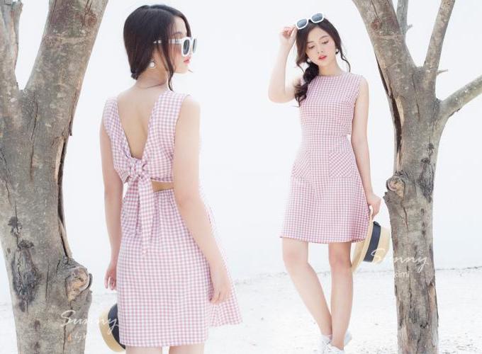 Đầm công sở màu sắc thanh nhã cho chị em diện mùa hè - 1