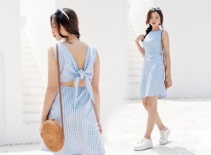 Đầm công sở màu sắc thanh nhã cho chị em diện mùa hè