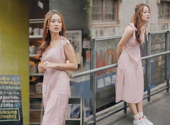 Đầm công sở màu sắc thanh nhã cho chị em diện mùa hè - 4