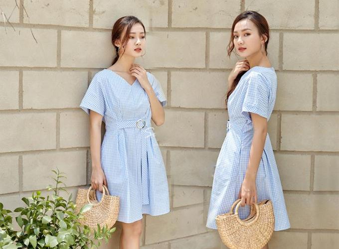Đầm công sở màu sắc thanh nhã cho chị em diện mùa hè - 3