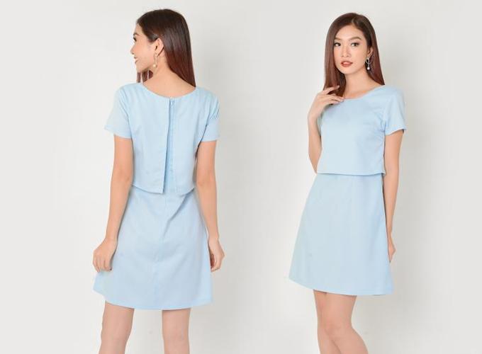 Đầm công sở màu sắc thanh nhã cho chị em diện mùa hè - 6