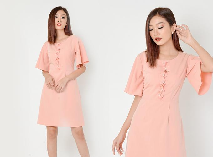 Đầm công sở màu sắc thanh nhã cho chị em diện mùa hè - 7