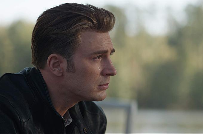 Captain America có nhiều chi tiếtxúc động trong phim.