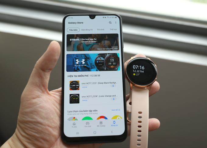 Galaxy Watch Active: Phụ kiện cho bạn gái năng động - 2