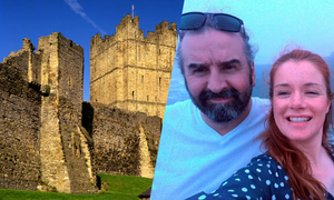 Đôi tình nhân bị nhốt trong lâu đài vì mải sex