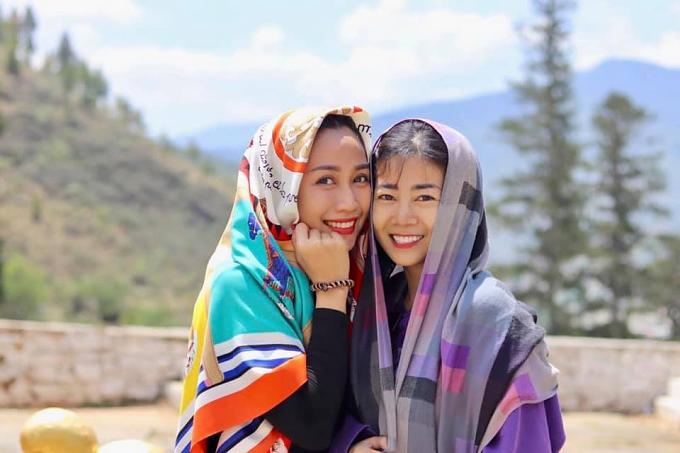 Ốc Thanh Vân đưa Mai Phương đi du lịch Bhutan