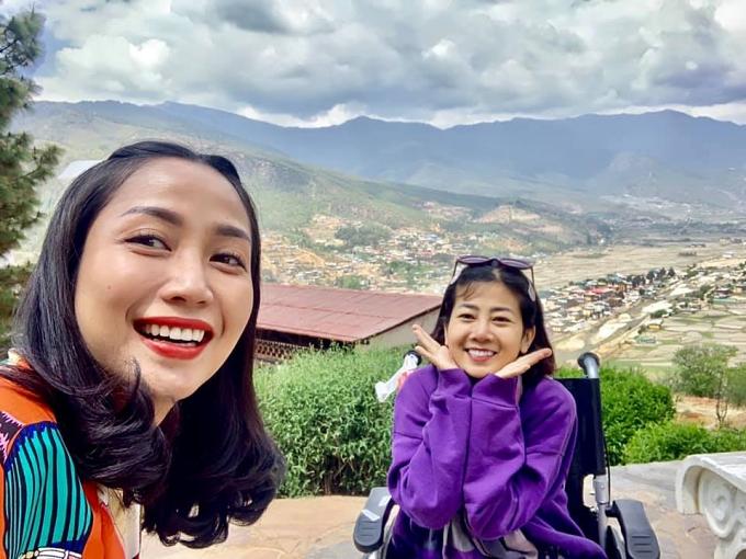 Ốc Thanh Vân đưa Mai Phương đi du lịch Bhutan - 2