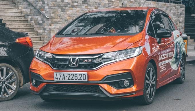 Honda Jazz ưu đãi hơn 40 triệu đồng