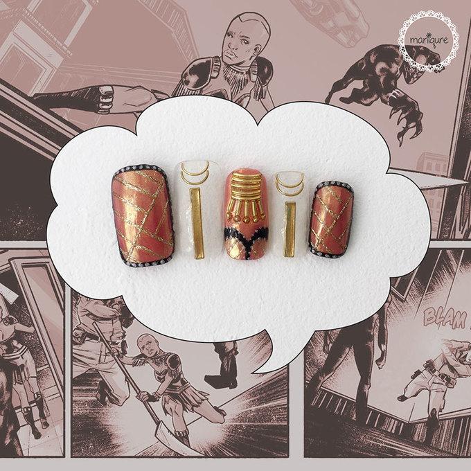 10 mẫu móng tay dành riêng cho fan của Avengers