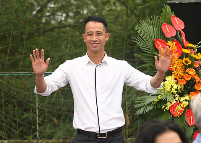 Cựu tuyển thủ Vũ Như Thành. Ảnh: Đương Phạm.