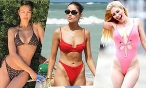 Các sao Hollywood diện bikini đón hè